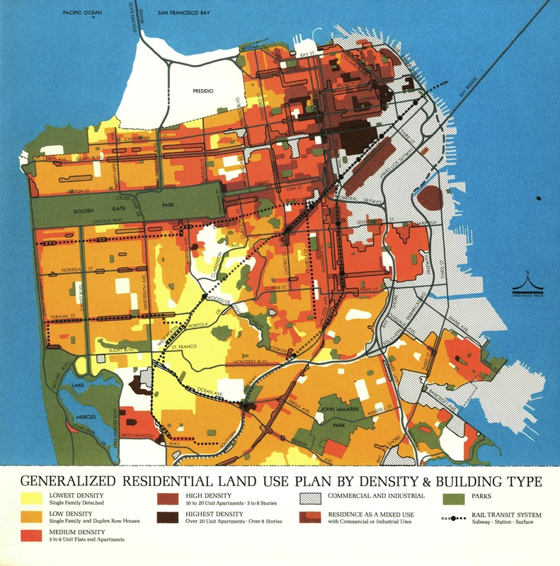 San Francisco Zoning Map Land Use   San Francisco San Francisco Zoning Map